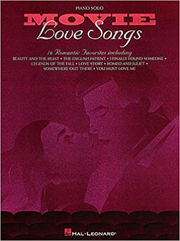 movie love songs piano songbook