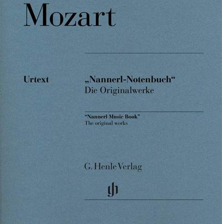 cuaderno de Nannerl pdf