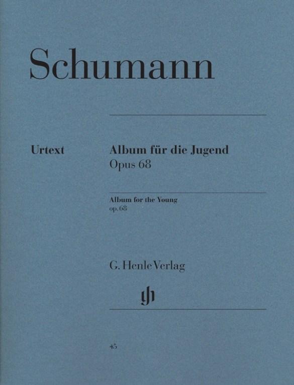 schumann álbum de la juventud op. 68