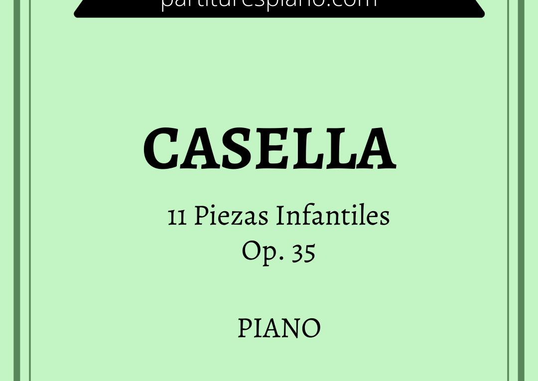 casella 11 piezas infantiles pdf