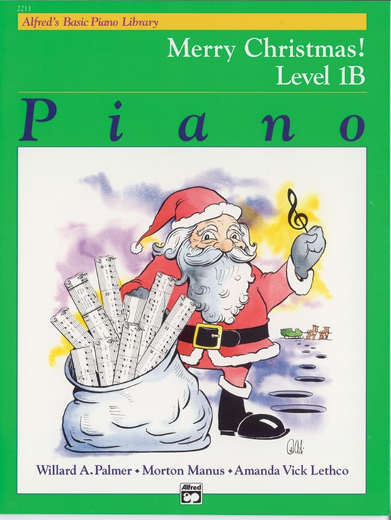 alfred's basic piano course christmas