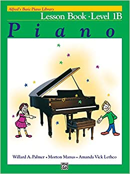 alfred's basic piano course lesson