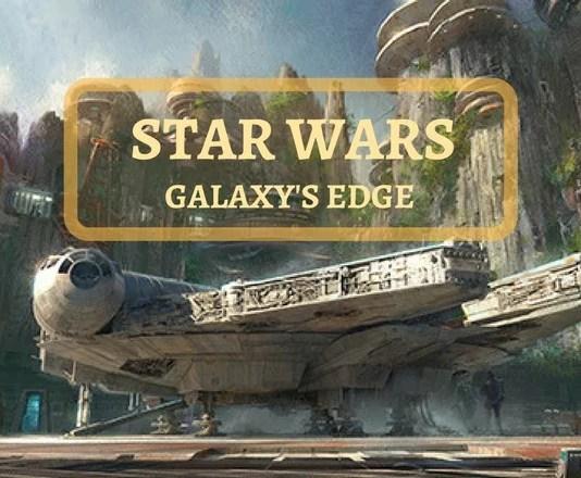 Nova àrea do star wars na disney