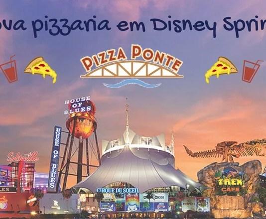 Pizza Ponte Disney Springs