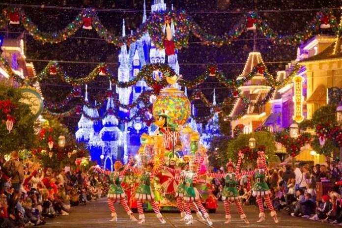 Festa de Halloween e Natal na Disney