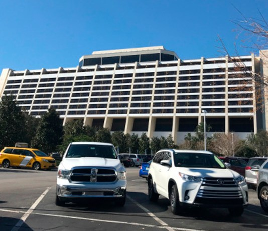 estacionamento hoteis disney