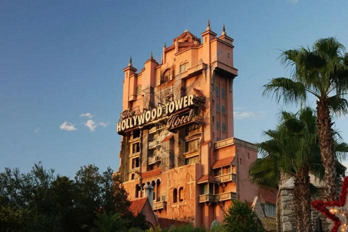 Atrações da Disney - Twilight Zone Tower of Terror ( Hollywood Studios - 2019 )