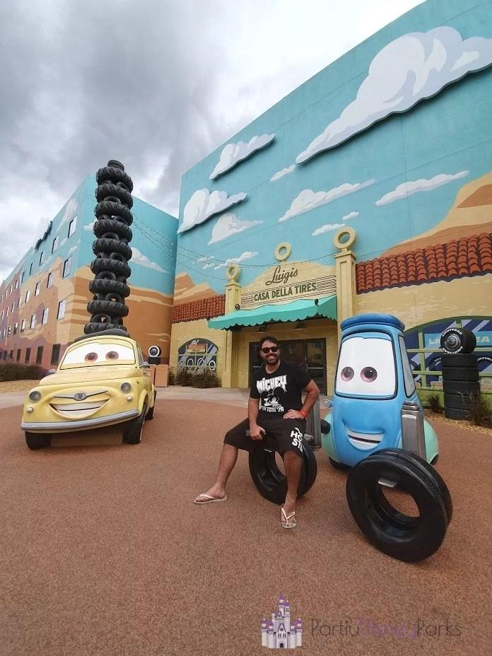 Art of Animation - Sessão do Carros Carlos - Partiu Disney Parks 2