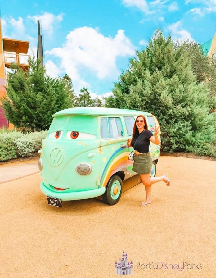 Art of Animation - Sessão do Carros Nath - Partiu Disney Parks