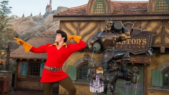 Gaston-no-magic-kingdom