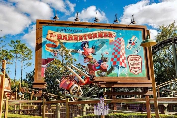 The Barnstormer - Magic Kingdom