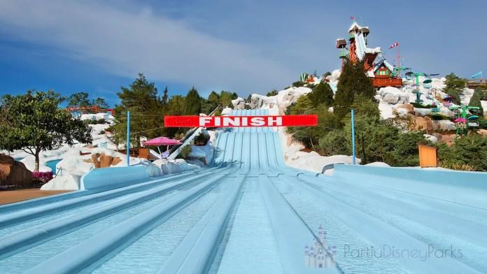 Blizzard Beach Water Park na Disney