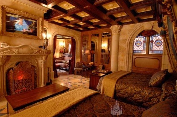 O quarto secreto no Castelo da Cinderela