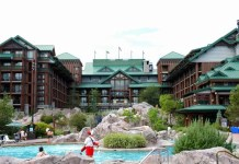 Entrada do Wilderness Lodge