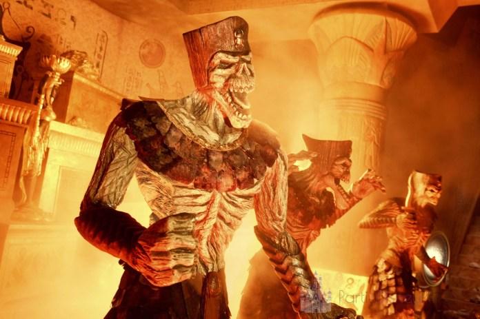 The revenge of the Mummy
