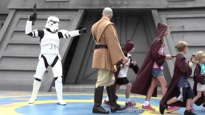 Vire um Jedi - Jedi Training