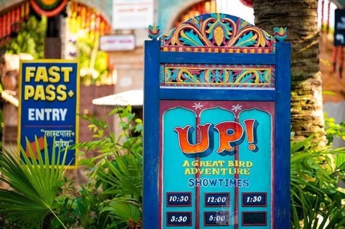 Up! Show no Animal Kingdom