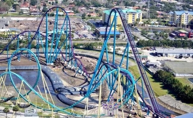 Mako Sea World Percurso
