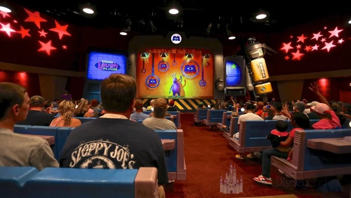 Monster Inc Laugh Floor Teatro