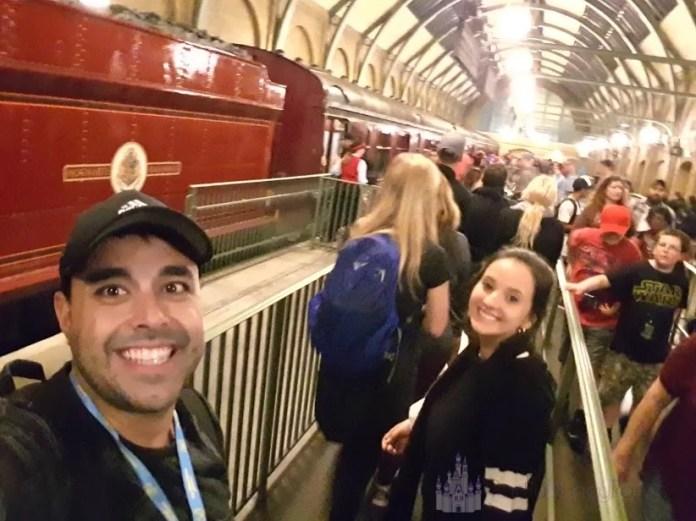 Partiu Disney Parks no Expresso de Hogwarts