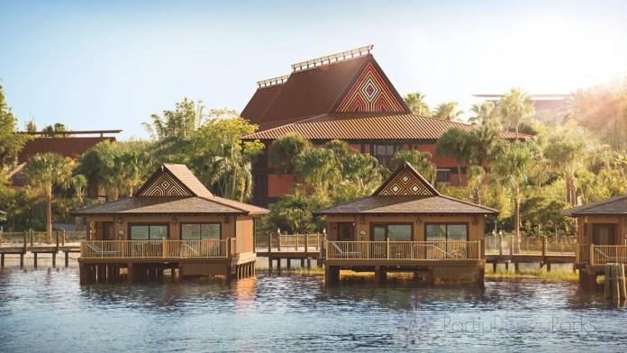 Bangalôs no Disney's Polynesian Resort