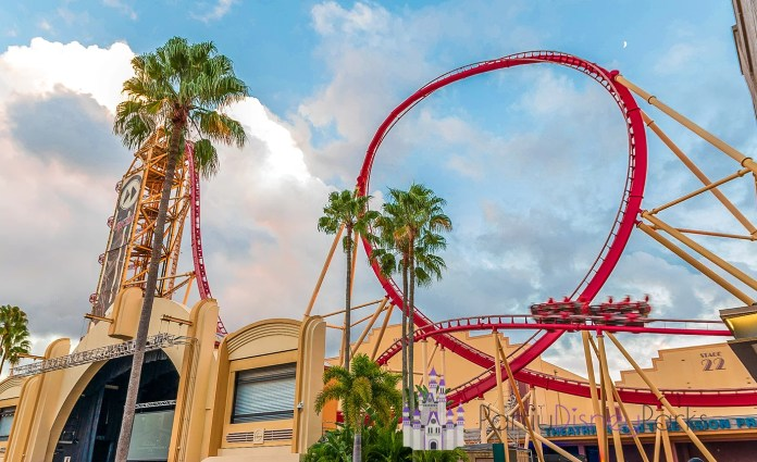 The Rip Ride Rockit es una montaña rusa de Universal Studios