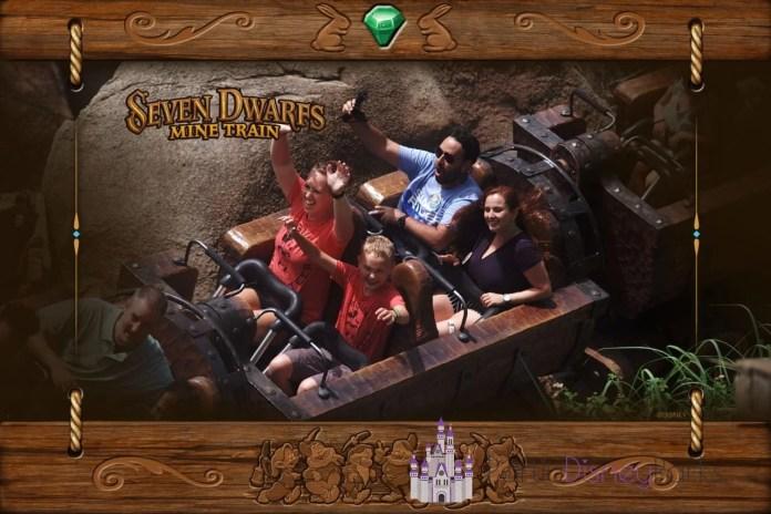 Seven Dwarfs Mine Train - Partiu Disney Parks