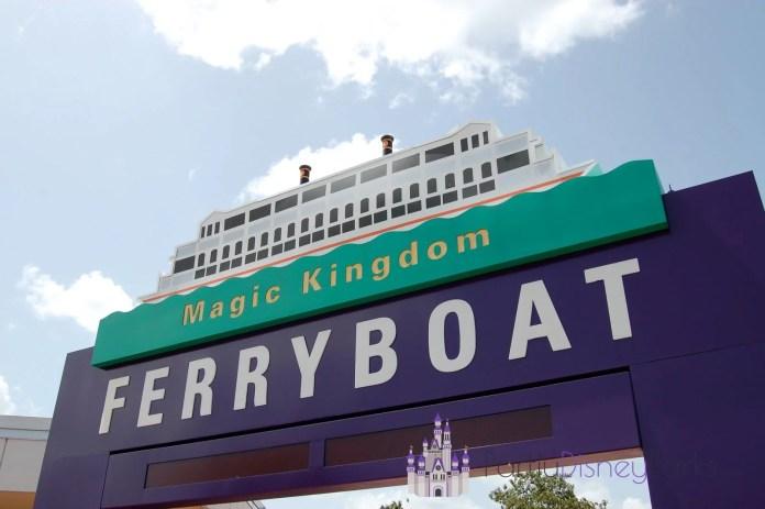 Ferry Boat Magic Kingdom
