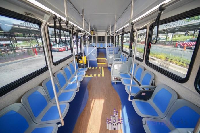 Onibus Disney Interior