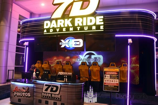 7-D Dark Ride Icon