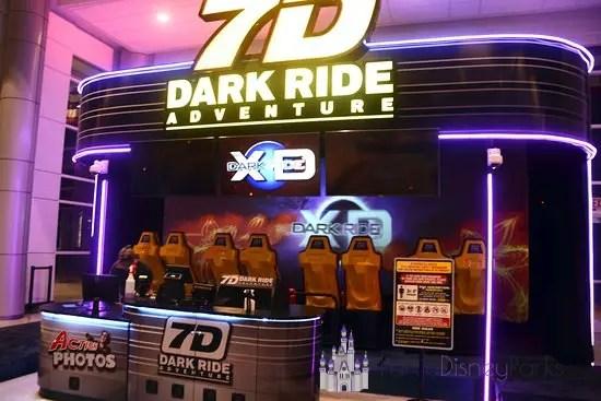 7-D Dark Ride Icon