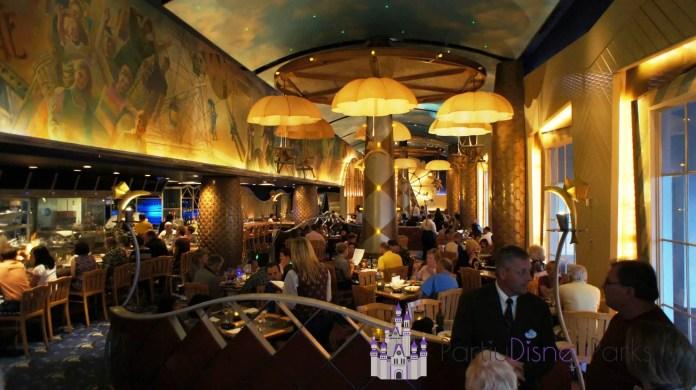 Flying Fish Cafe em Disney's BoardWalk.