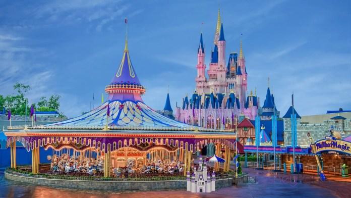 Fantasyland - Prince Charming Regal Carrousel