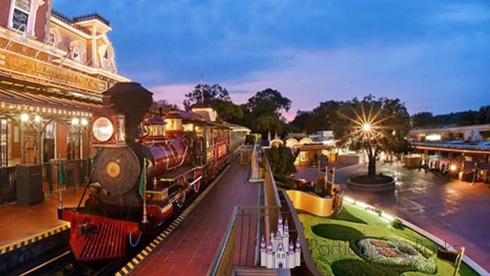 Fantasyland - Walt Disney World Railroad