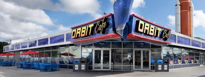 O Orbit Café é ótima opção para as refeições no Kennedy Space Center