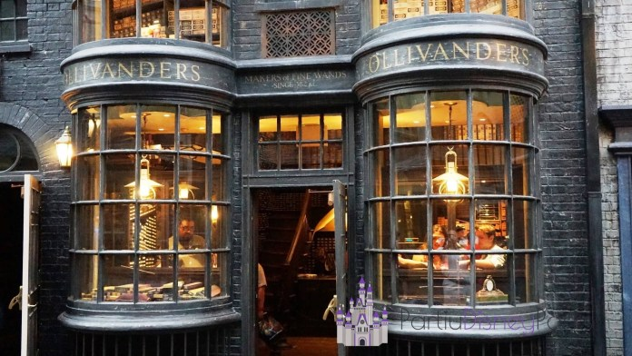 Ollivander's Wand Shop at Universal Studios Florida.