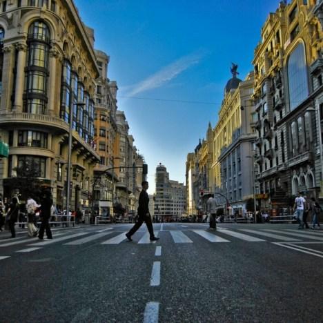 Puerta de Alcalá e Calle de Alcalá