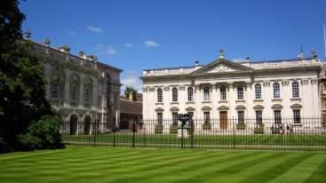 bolsa para curso de verão na Inglaterra cambridge partiu intercambio