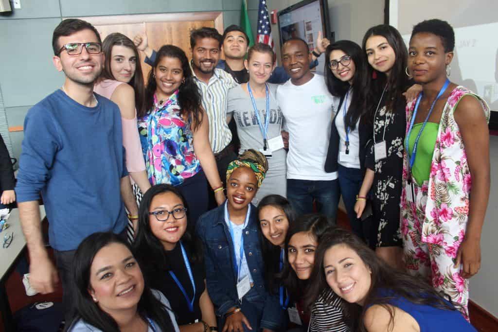 YLA programa de liderança dá bolsas de estudos para ir a Nova York partiu intercambio