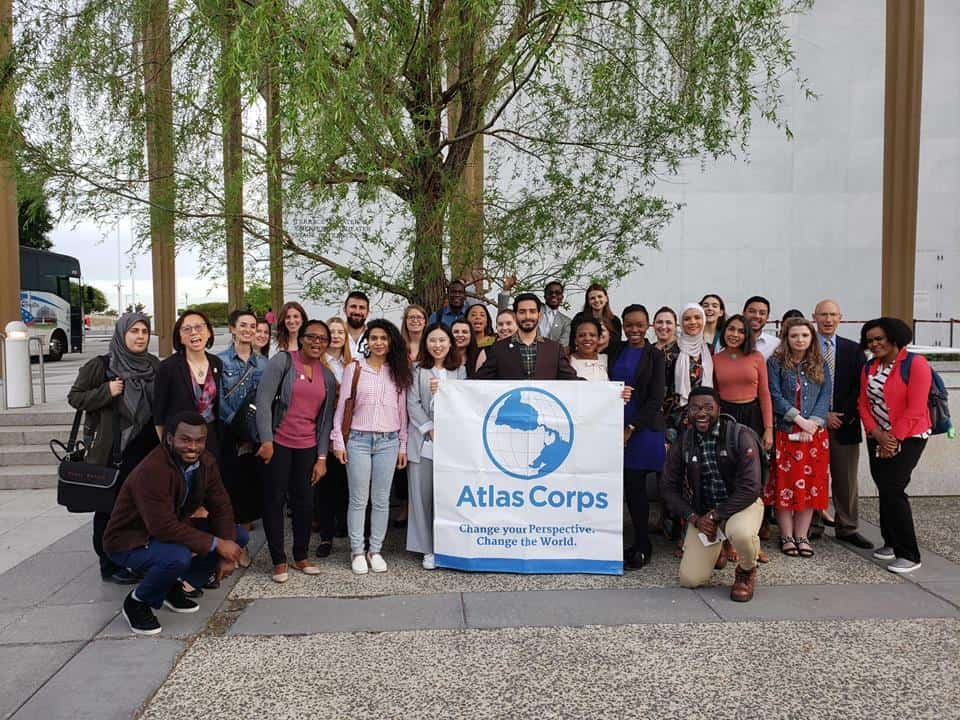 bolsa para jovens líderes nos EUA atlas corps
