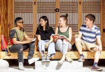 quatro estudantes fazem intercambio na coreia do sul com bolsa de estudos da AKS Graduate Fellowship