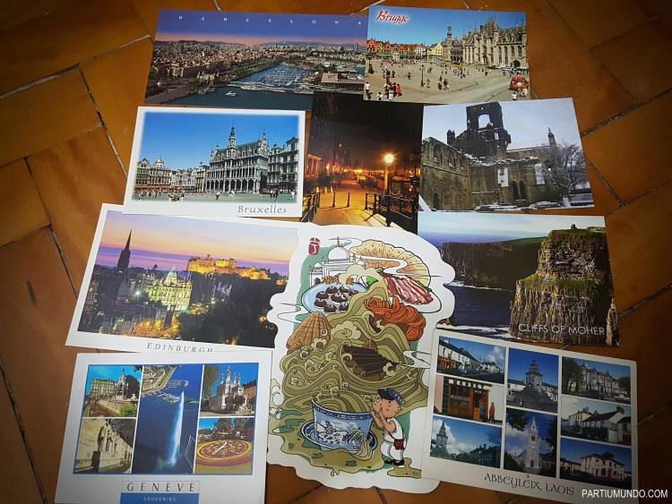 cartões postais - postcards