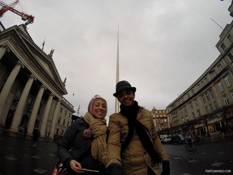nossa chegada a Dublin