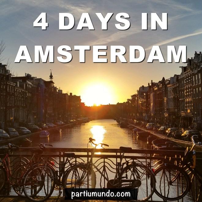4 days in Amsterdam