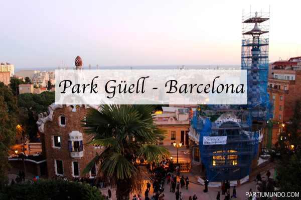 barcelona - park güell 1