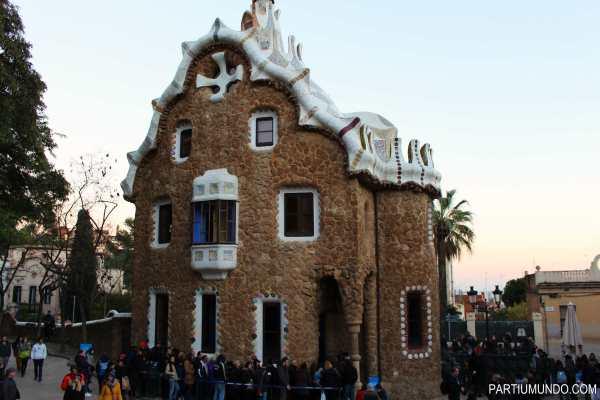 barcelona - park güell 5