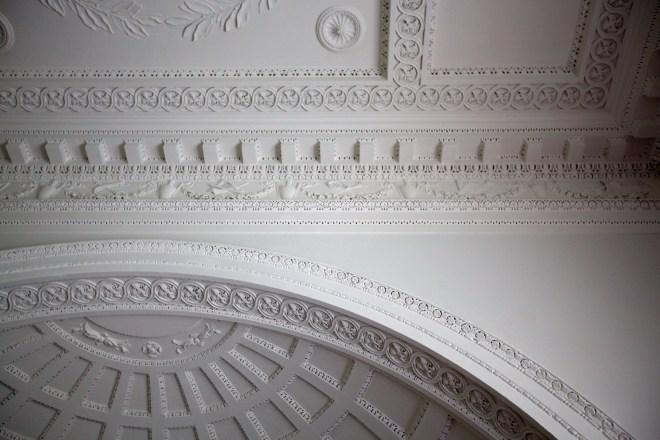 Ceiling detail, vestibule
