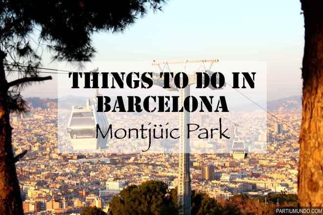 barcelona - montjuic park 1