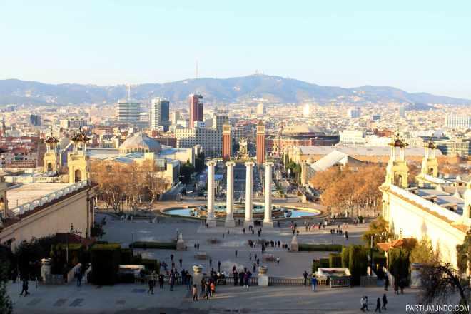 barcelona - montjuic park 3