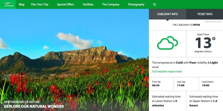 Table Mountain 2 a